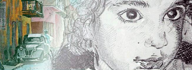 La Technique Du Portrait à La Sanguine Et à La Sépia Sur Papier à Dessin