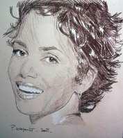 image de portrait de célébrité à la sépia
