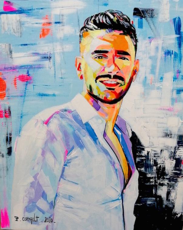 La Technique Du Portrait A La Peinture Acrylique Sur Toile