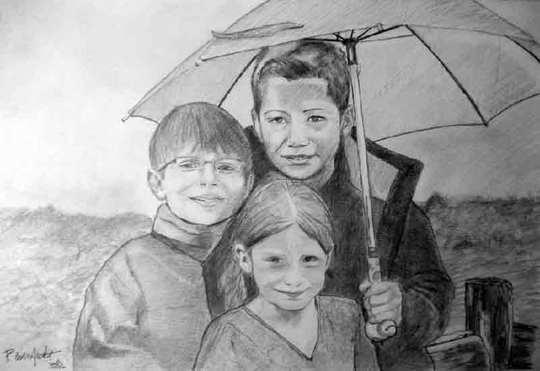 image de portrait de famille